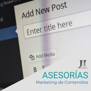 Asesorias de Marketing de Contenidos